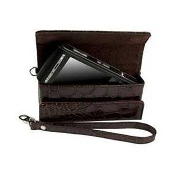 Krusell Divine Croco Pouch Brown