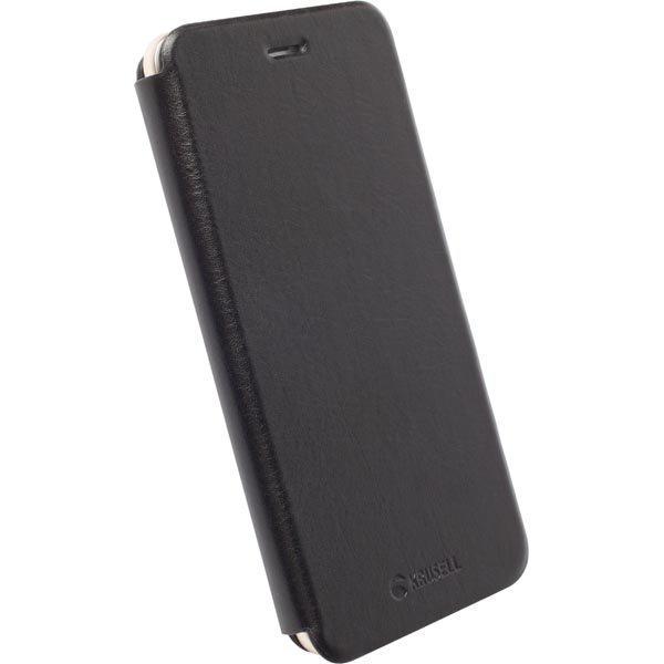 Krusell Donsö FlipCase tekonahkasuojus iPhone 6 Plus Musta