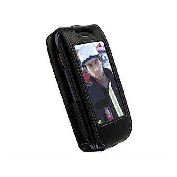 Krusell Dynamic Multidapt Leather Case for the Sony Ericsson Aino Black / Grey