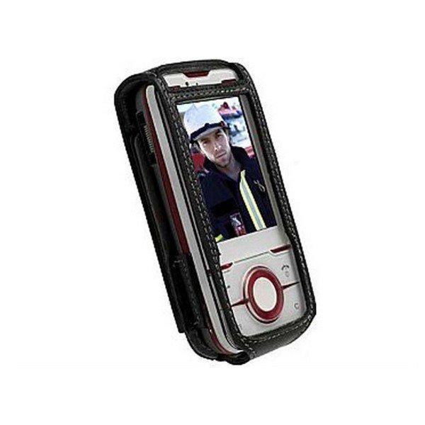 Krusell Dynamic Multidapt Leather Case for the Sony Ericsson Yari Black / Grey