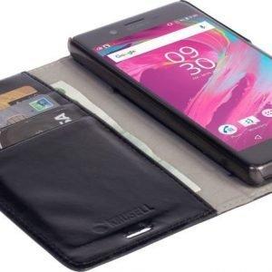 Krusell Ekerö Foliowallet 2in1 Sony Xperia X Compact Black