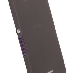 Krusell FrostCover Sony Xperia Z Transparent Black