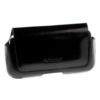 Krusell Hector Nahkakotelo iPhone 5 / 5S / SE Sony Xperia J Motorola Razr I Musta