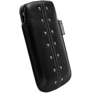 Krusell Kalix Mobile Pouch L (116x62x12 mm) Black
