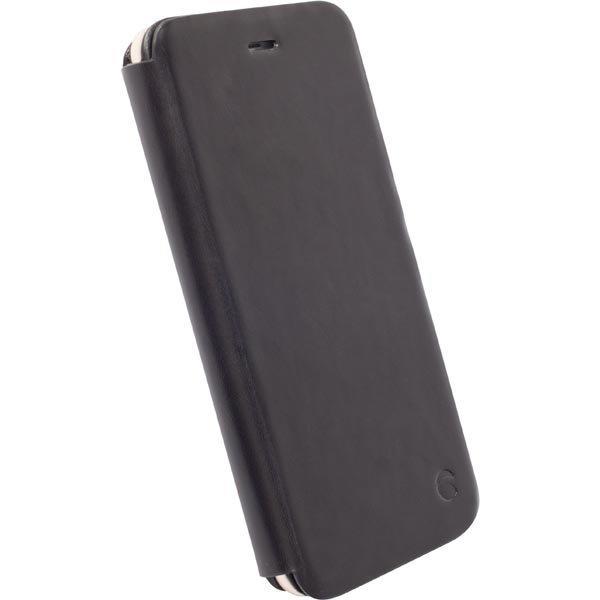 Krusell Kiruna FlipCase nahkasuojus iPhone 6 Plus mallille musta