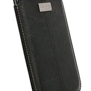 Krusell Luna Mobile Pouch L Long (124x59x10 mm) Black