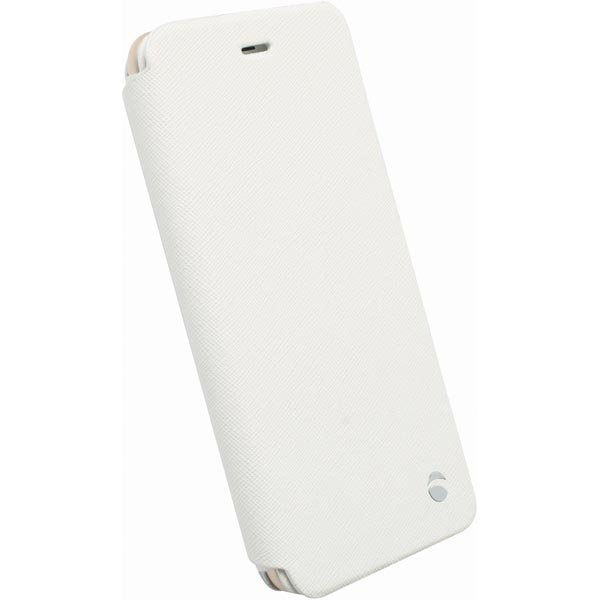 Krusell Malmö FlipCase Stand suojus iPhone 6 Plus puhelimelle Valk