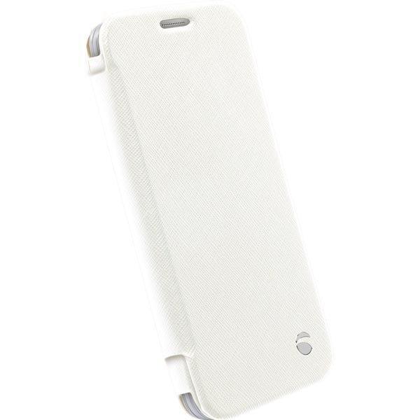 Krusell Malmö FlipWallet Samsung Galaxy S6/S6 Edge kotelo valkoine
