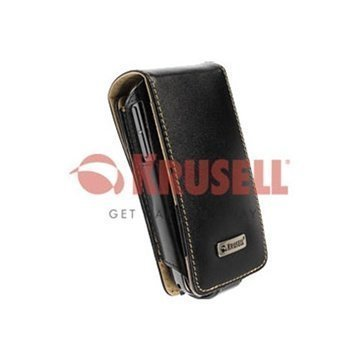 Krusell Orbit Multidapt Leather Case HTC P3470 Black / Beige