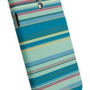 Krusell PrintCover Green Stripe for Samsung Galaxy S4