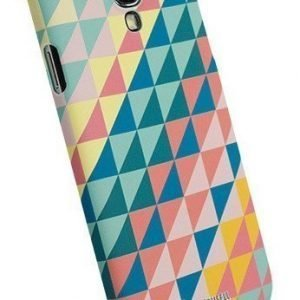 Krusell PrintCover Green Triangle for Samsung Galaxy S4