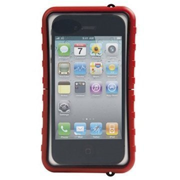 Krusell SEALABOX WaterProof Case Red