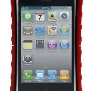 Krusell SEaLABox Waterproof Mobile Case L (116x59x15 mm) for iPhone 4 & 4S Red
