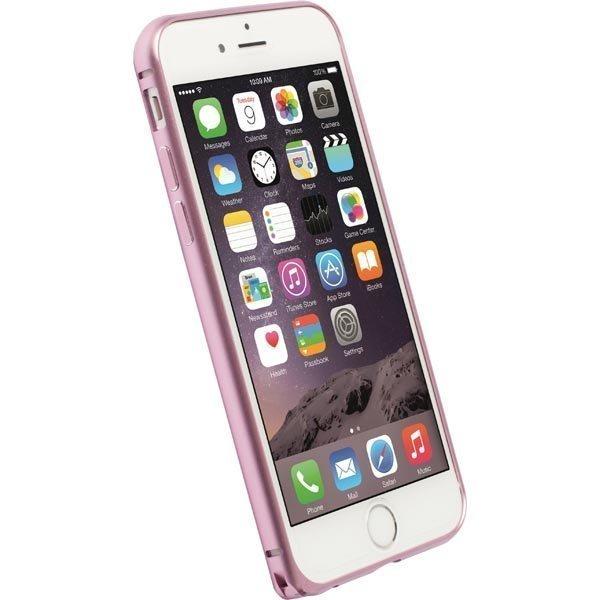 Krusell Sala Alubumper Suojakuori alumiini iPhone 6 matta v.puna