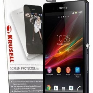 Krusell Screenprotector Sony Xperia Z1