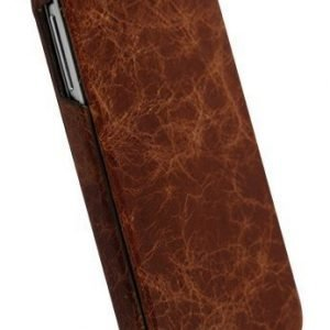 Krusell SlimCover Tumba for Samsung Galaxy S4 Brown