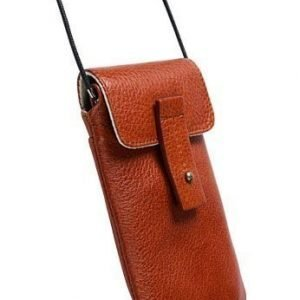 Krusell Tumba Mobile Case for iPhone 4S & others (133x71x15 mm) Cognac Brown
