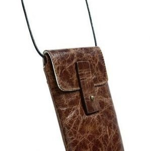Krusell Tumba Mobile Case for iPhone 4S & others (133x71x15 mm) Vintage Brown