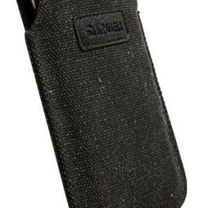 Krusell Uppsala Mobile Pouch L (116x62x12 mm)- Black