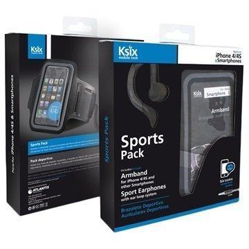 Ksix BXPACKSPI Sports Pack Sporttipakkaus L Musta