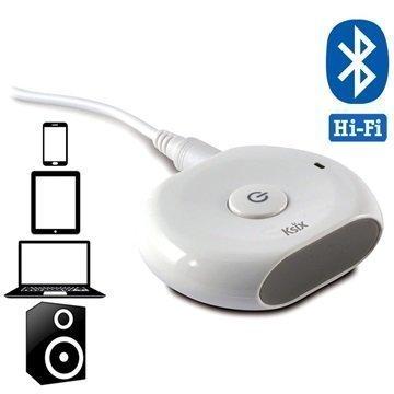 Ksix Bluear Connect & Play Bluetooth Audiovastaanotin Valkoinen