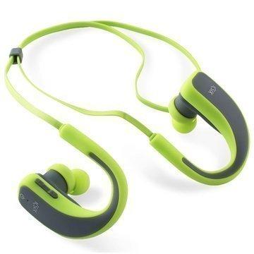 Ksix Go & Play Sport 2 Bluetooth-Stereokuulokkeet Vihreä