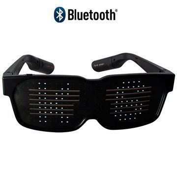 Ksix Pixi Bluetooth LED Glasses iOS Android