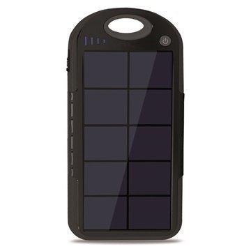 Ksix Solar Powerlive Ulkoinen Akku / Virtapankki Musta