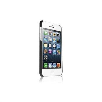 Kuminen Napsautettava Suojakuori iPhone 5 / 5S / SE -Puhelimelle Musta