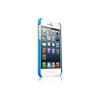 Kuminen Napsautettava Suojakuori iPhone 5 / 5S / SE -Puhelimelle Sininen