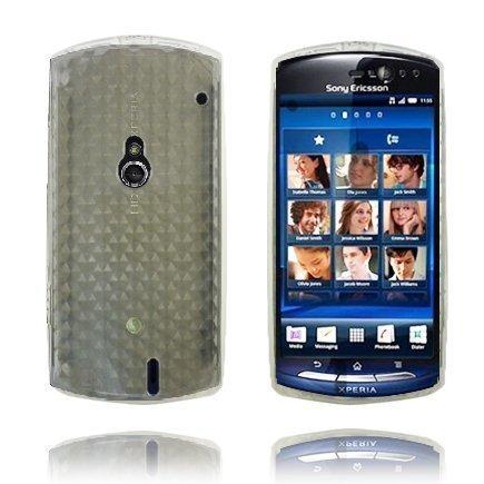 Kuutiot Kirkas Sony Ericsson Xperia Neo Silikonikuori