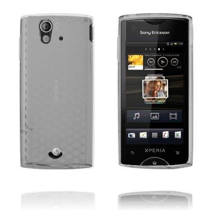 Kuutiot Läpikuultava Sony Ericsson Xperia Ray Silikonikuori