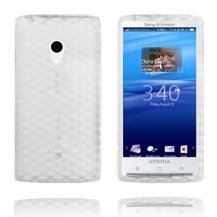 Kuutiot Läpikuultava Sony Ericsson Xperia X10 Silikonikuori