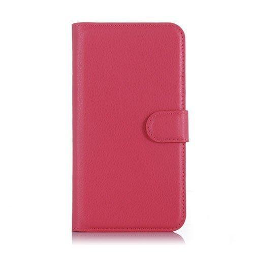 Kvist Microsoft Lumia 550 Nahkakotelo Standillä Kuuma Pinkki