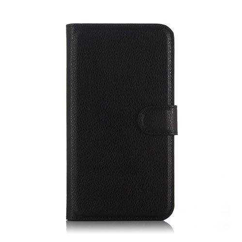 Kvist Microsoft Lumia 550 Nahkakotelo Standillä Musta