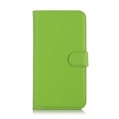Kvist Microsoft Lumia 550 Nahkakotelo Standillä Vihreä