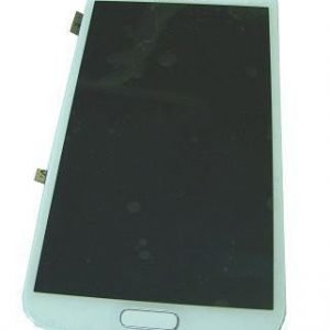LCD-näyttö + kosketuspaneeli Samsung Galaxy Note 2 N7100 Valkoinen