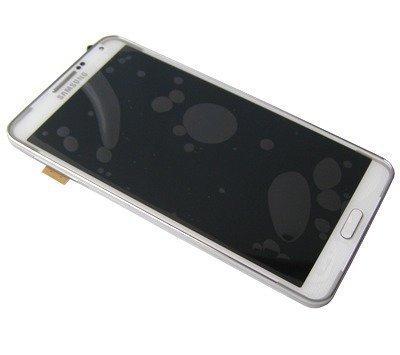 LCD-näyttö + kosketuspaneeli Samsung Galaxy Note 3 N9005 Valkoinen