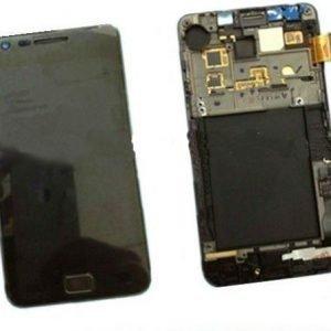 LCD-näyttö + kosketuspaneeli Samsung Galaxy S2 GT-i9100 Musta