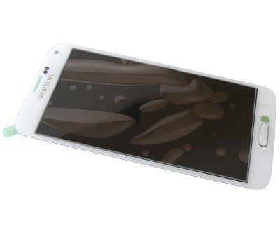 LCD-näyttö + kosketuspaneeli Samsung Galaxy S5 SM-G900F / SM-G901F Galaxy S5 Plus valkoinen