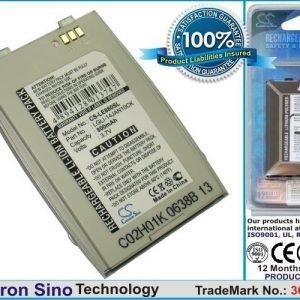 LG EG880 G5400 G5410 / hopea akku 800 mAh