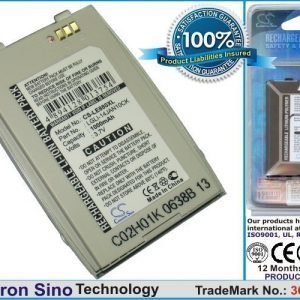 LG EG880 G5400 G5410 / hopea tehoakku 1000 mAh