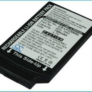 LG F2300 G232 F2400 S5000 S5100 F3000 G233 F9100 akku 750 mAh