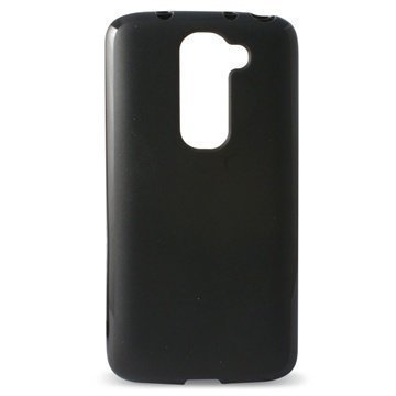 LG G2 G2 Mini LTE Ksix Flex TPU Kotelo Musta