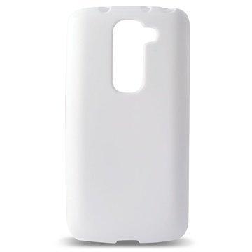 LG G2 Mini G2 Mini LTE Ksix Flex TPU Kotelo Valkoinen
