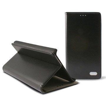 LG G2 Mini G2 Mini LTE Ksix Folio Nahkakotelo Musta