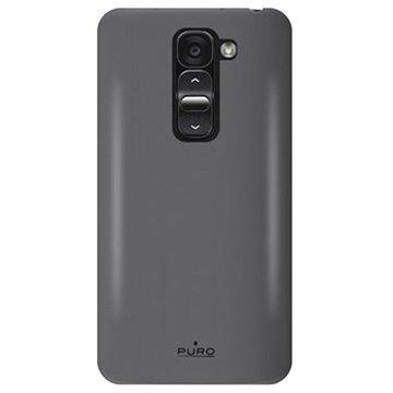 LG G2 Mini G2 Mini LTE Puro Silikonikuori Musta