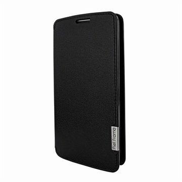 LG G2 Piel Frama FramaSlim Nahkakotelo Musta