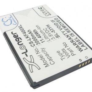 LG G3 D855 yhteensopiva akku 3000 mAh