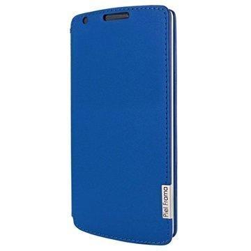LG G3 Piel Frama FramaSlim Nahkakotelo Sininen